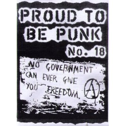 Proud to be Punk No. 18