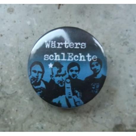 Wärters Schlechte - Band  (Button)