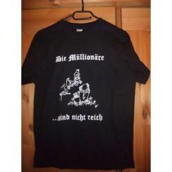 Die Müllionäre - sind nicht reich... (T-Shirt