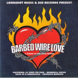 V.A. - Birbed Wire Love - A tribute to Stiff Little Fingers   (7''),