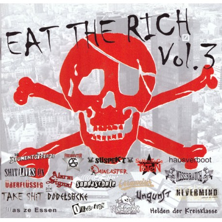 V.A. - Eat the rich Vol.3  (CD)