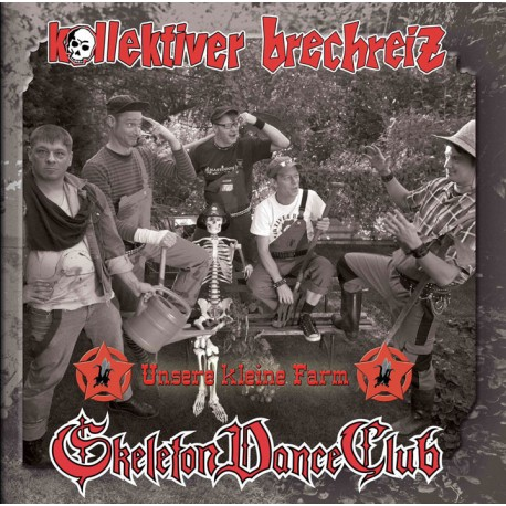 Kollektiver Brechreiz / Skeleton Dance Club - Unsere kleine Farm  (LP)