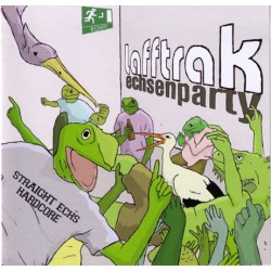 Lafftrack  -  Echsenparty  (CD)