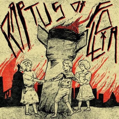 Raptuns di Follia / Pest Control  (Split-LP)