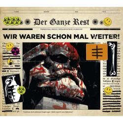 Der Ganze Rest - Wir waren schon mal weiter  (CD)