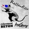 Exkrement Beton / Asselterror - Rattendisco  (LP+CD)