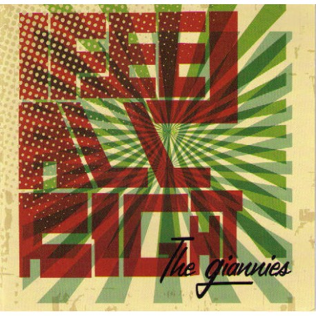 The Giannies  -  I feel alright  (CD)