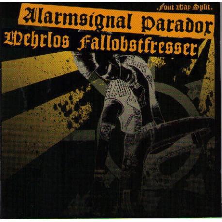 Alarmsignal / Fallobstfresser / Paradox / Wehrlos  -  Split   (CD)