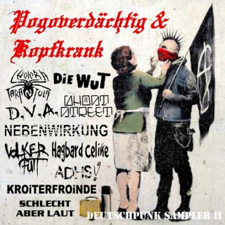 V.A. - Pogoverdächtig & Kopfkrank  Vol.2  (CD)