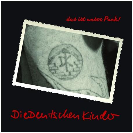 Die Deutschen Kinder - Das ist unser Punk! (LP schwarz/rot)