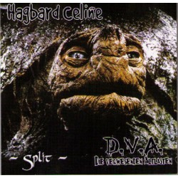 D.V.A. / Hagbard Celine  -  Split   (LP+CD)